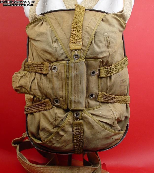 Collect Russia Luftwaffe Parachute Harness Backpack Type