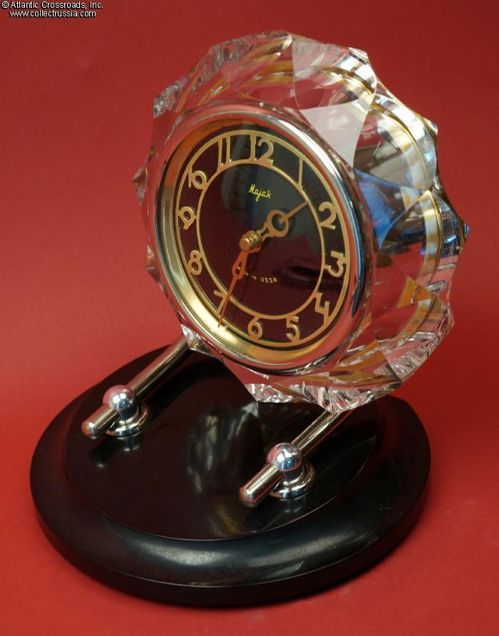 Collect Russia Executive Desk Clock By Majak Mid To Late 1970s Manufacture Soviet Russian